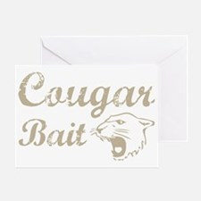 cougar bait Greeting Card