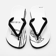 WeAreStrong Flip Flops