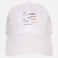 Peace on Earth Baseball Baseball Cap