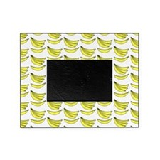 Yellow Bananas Pattern Picture Frame