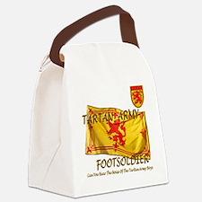 Tartan Army Boys The Noise Canvas Lunch Bag