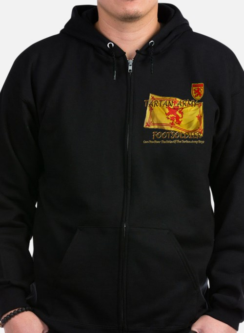 Tartan Army Boys The Noise Zip Hoodie