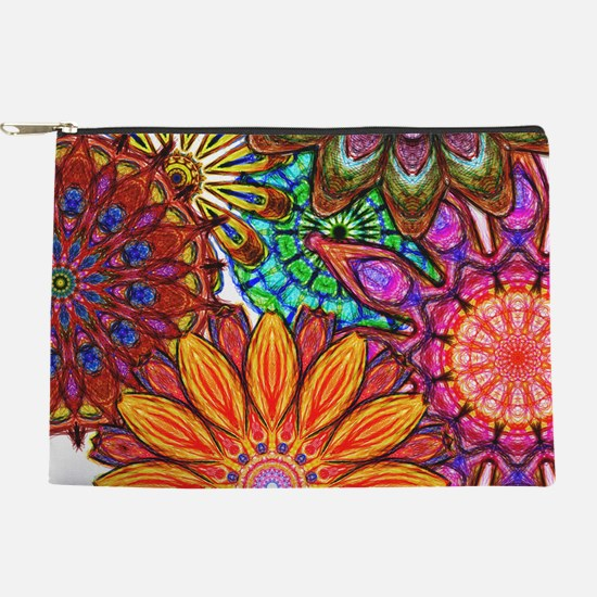 Funky Flowers Makeup Pouch