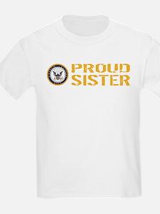 U.S. Navy: Proud Sister T-Shirt