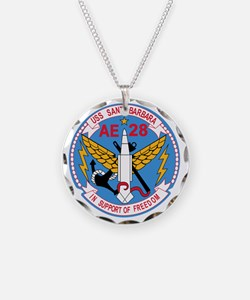 AE-28 USS Santa Barbara Ammu Necklace