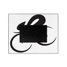 speed cycle black Picture Frame