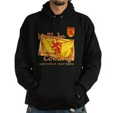 Well be coming lion flag design Hoody
