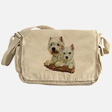 West Highland White Terrier Messenger Bag