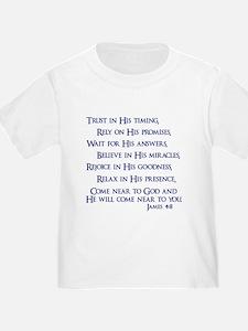 James 4:8 T-Shirt