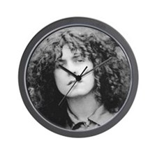 CORKSCREW CURLS Wall Clock