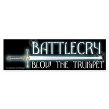 Battle Cry Bumper Bumper Sticker