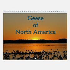 Geese Of North America Wall Calendar