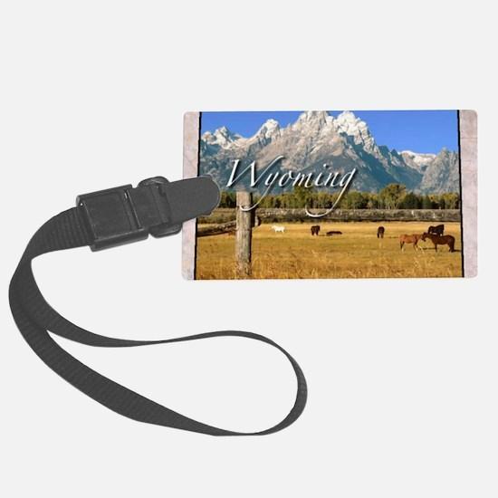 Wyoming Luggage Tag