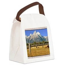 Wyoming Canvas Lunch Bag