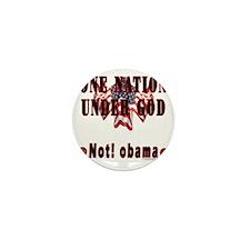 not_obama_w Mini Button