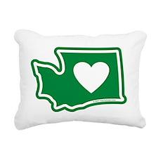 Washington_v5 Rectangular Canvas Pillow