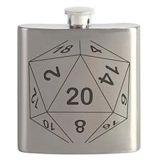 d20_black Flask