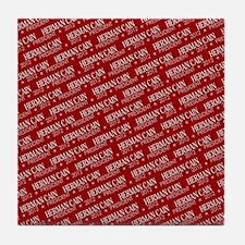 flip_flops_political_patterns_cain_02 Tile Coaster