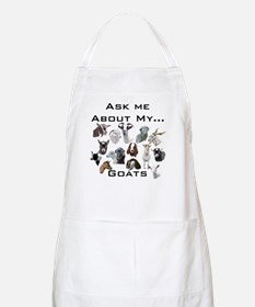 Goat Ask All Breed BBQ Apron