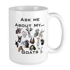 Goat Ask All Breed Mug