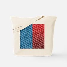 flip_flops_political_patterns_bachmann_03 Tote Bag