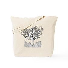 guitar tree white Tote Bag