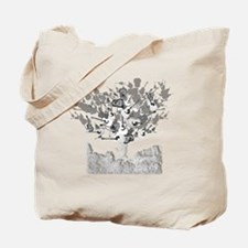 guitar tree white Tote Bag