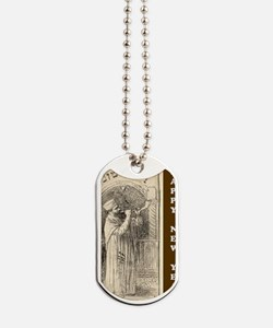 OLD Happy New Year Dog Tags