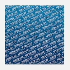 flip_flops_political_patterns_cain_01 Tile Coaster