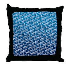 flip_flops_political_patterns_cain_01 Throw Pillow