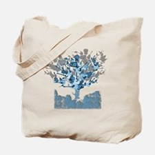 guitar tree red Tote Bag