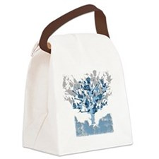 guitar tree red Canvas Lunch Bag