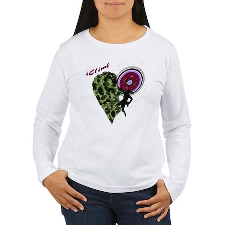 Girl Rock Climber Women's Long Sleeve T-Shirt