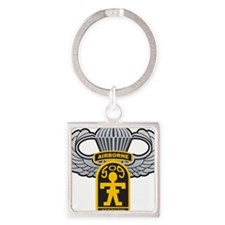 509thairbornewings Square Keychain