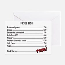 Price_List_Humor Greeting Card