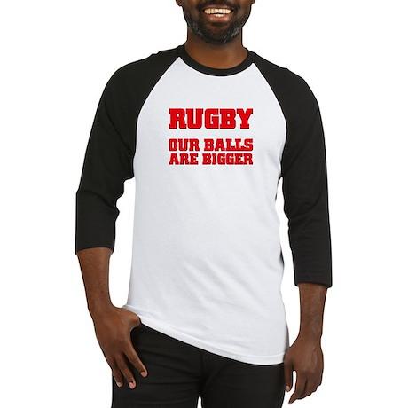 Rugby bigger balls Baseball Jersey