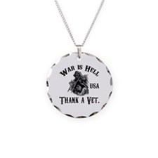 War is Hell Necklace