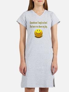 Laugh_Hard_Tears Women's Nightshirt