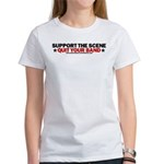 Support The Scene Women's T-Shirt