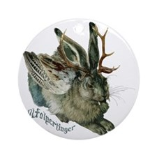 Wolpertinger Round Ornament