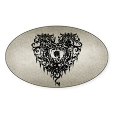 ornate-gothic-heart_bl_9x18h Decal