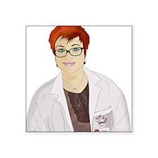 "sarah_nurse_friend_1_2 Square Sticker 3"" x 3"""