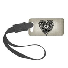 ornate-gothic-heart_bl_snap-toil Luggage Tag