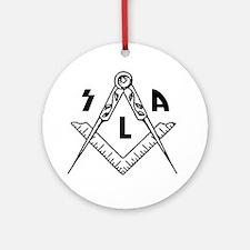SLA Round Ornament