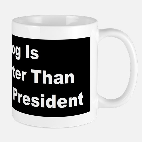 anti obama my dogbumperd Mug