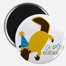 Party Platypus Magnet