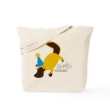 Party Platypus Tote Bag