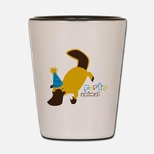 Party Platypus Shot Glass