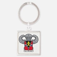 509thairbornewings2 Square Keychain