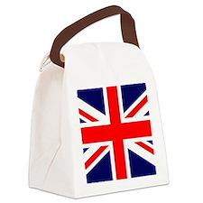 UK Flag Wallet Canvas Lunch Bag